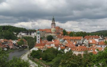 Český Krumlov - panorama / Skyline of Cesky Krumlov
