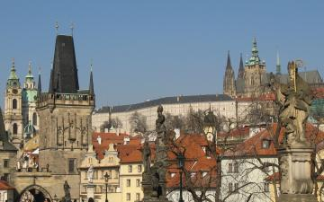 Pražský hrad z Karlova mostu / Prague Castle taken from Charles Bridge