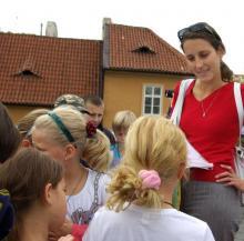 Prohlídky Prahy pro děti - s vodníkem na Kampu