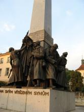 Pomník legií na Palackého náměstí