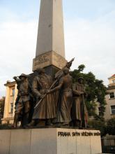 Pomník padlým legionářům na Palackého náměstí