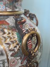 Předjaří v Královské zahradě - detail čínské vázy