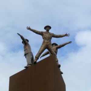 Památník atentátu na Heydricha v Libni