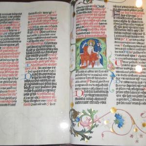 Strahov library - manuscript