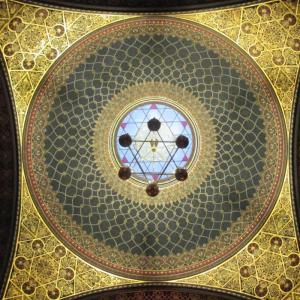 Ceiling of Spanish synagogue