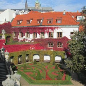 Vrtbovská zahrada - Hrad