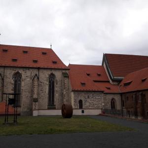 Anežský klášter zahrada