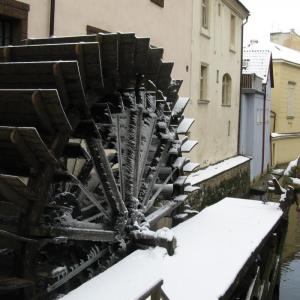 Certovka - Mill wheel