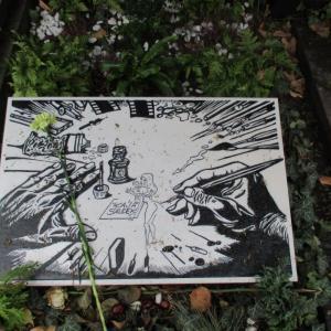 Vyšehradský hřbitov - Kája Saudek