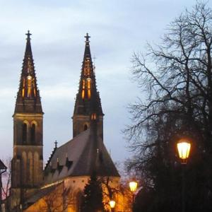 Vyšehrad - kostel sv. Petra a Pavla
