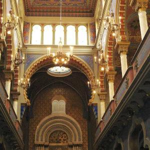 Jeruzalémská synagoga interiér