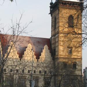Novoměstská radnice na Karlově náměstí